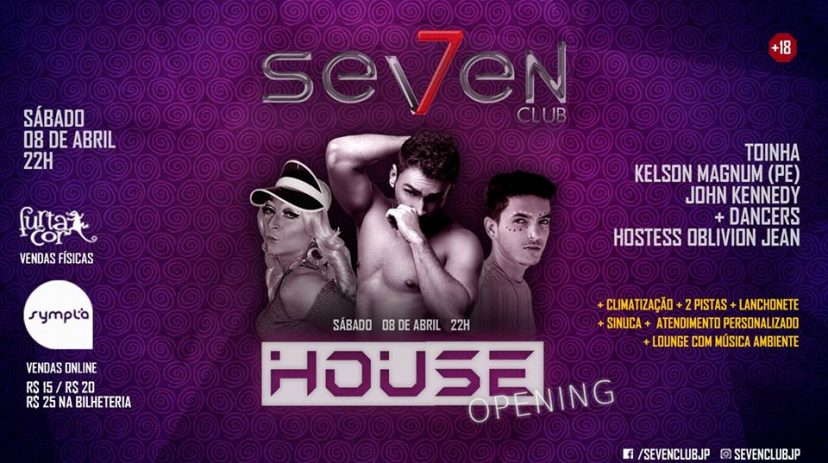 SEVEN Club: House Opening / Seven Club