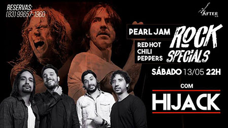 Pearl Jam e Red Hot Chili Peppers / After Pub