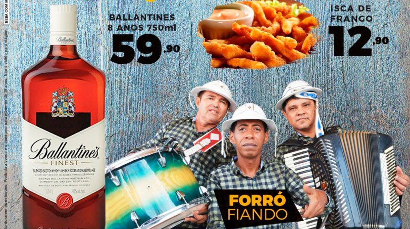 """Happy Hour + Projeto Quartas do Forró"" 