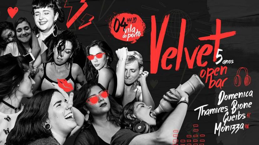 Velvet 5 Anos OPEN BAR | Vila do Porto